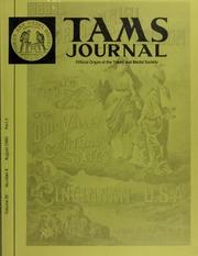 TAMS Journal, Vol. 20, No. 4 Part II