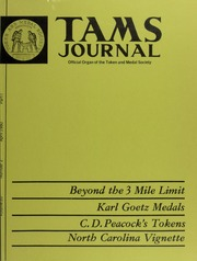 TAMS Journal, Vol. 20, No. 2
