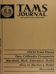 TAMS Journal, Vol. 21, No. 1