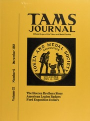TAMS Journal, Vol. 22, No. 6