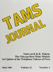 TAMS Journal, Vol. 25, No. 3