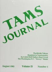 TAMS Journal, Vol. 25, No. 4