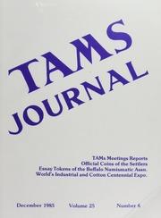 TAMS Journal, Vol. 25, No. 6