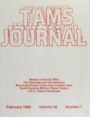 TAMS Journal, Vol. 26, No. 1