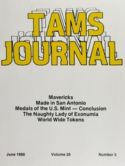 TAMS Journal, Vol. 26, No. 3