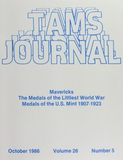 TAMS Journal, Vol. 26, No.5