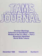 TAMS Journal, Vol. 26, No. 6