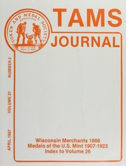 TAMS Journal, Vol. 27, No. 2