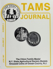 TAMS Journal, Vol. 27, No. 3