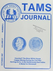 TAMS Journal, Vol. 27, No. 5