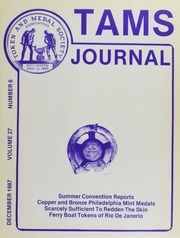 TAMS Journal, Vol. 27, No. 6