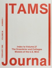 TAMS Journal, Vol. 28, No. 1