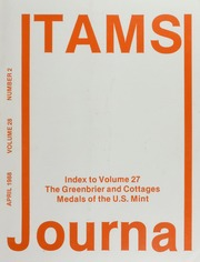 TAMS Journal, Vol. 28, No. 2