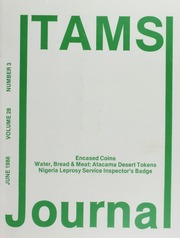 TAMS Journal, Vol. 28, No. 3