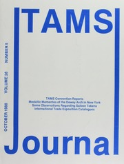 TAMS Journal, Vol. 28, No. 5