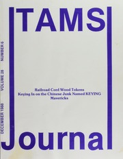 TAMS Journal, Vol. 28, No. 6