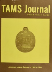 TAMS Journal, Vol. 29, No. 3