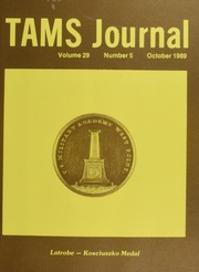 TAMS Journal, Vol. 29, No. 5