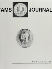 TAMS Journal, Vol. 30, No. 1