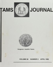 TAMS Journal, Vol. 30, No. 2