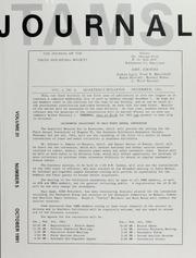 TAMS Journal, Vol. 31, No. 5