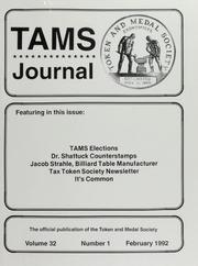 TAMS Journal, Vol. 32, No. 1