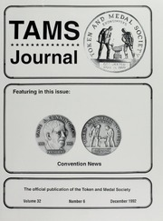 TAMS Journal, Vol. 32, No. 6