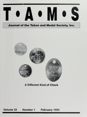 TAMS Journal, Vol. 33, No. 1