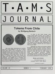 TAMS Journal, Vol. 34, No. 1