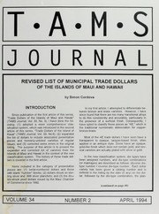TAMS Journal, Vol. 34, No. 2