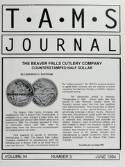 TAMS Journal, Vol. 34, No. 3