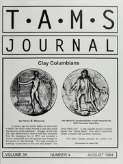 TAMS Journal, Vol. 34, No. 4