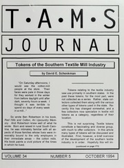 TAMS Journal, Vol. 34, No. 5