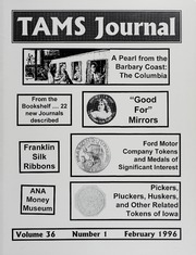 TAMS Journal, Vol. 36, No. 1