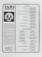 TAMS Journal, Vol. 36, No. 2 (pg. 29)