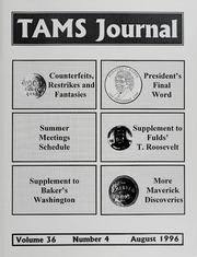 TAMS Journal, Vol. 36, No. 4