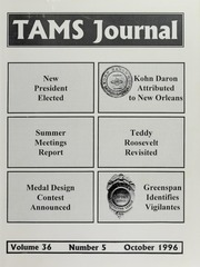TAMS Journal, Vol. 36, No. 5