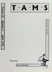 TAMS Journal, Vol. 38, No. 2