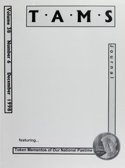 TAMS Journal, Vol. 38, No. 6