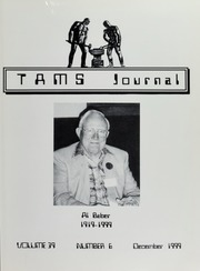 TAMS Journal, Vol. 39, No. 6