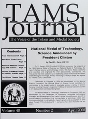 TAMS Journal, Vol. 40, No. 2