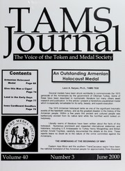 TAMS Journal, Vol. 40, No. 3