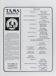 TAMS Journal, Vol. 40, No. 4