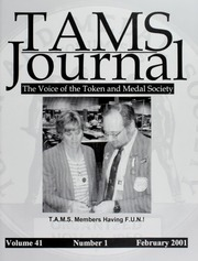 TAMS Journal, Vol. 41, No. 1 (pg. 28)