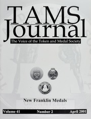 Picture of TAMS Journal