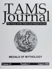 TAMS Journal, Vol. 41, No. 4