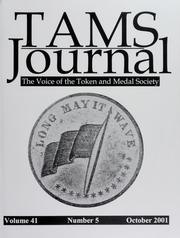 TAMS Journal, Vol. 41, No. 5