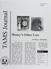 TAMS Journal, Vol. 45, No. 3