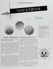 TAMS Journal, Vol. 47, No. 1