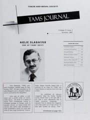 TAMS Journal, Vol. 47, No. 5